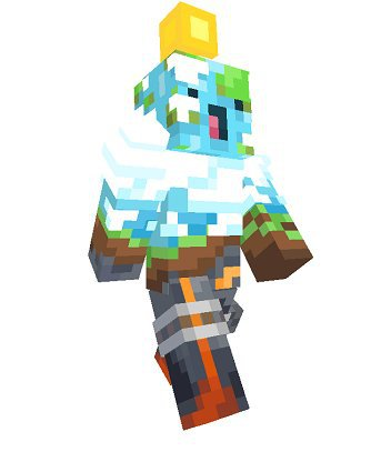 Minecraft skin being offered with Minecraft Earth pre