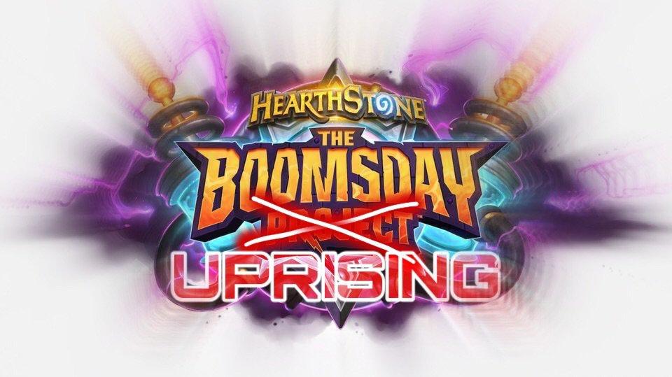 The Boomsday Uprising promo   Hearthstone Amino
