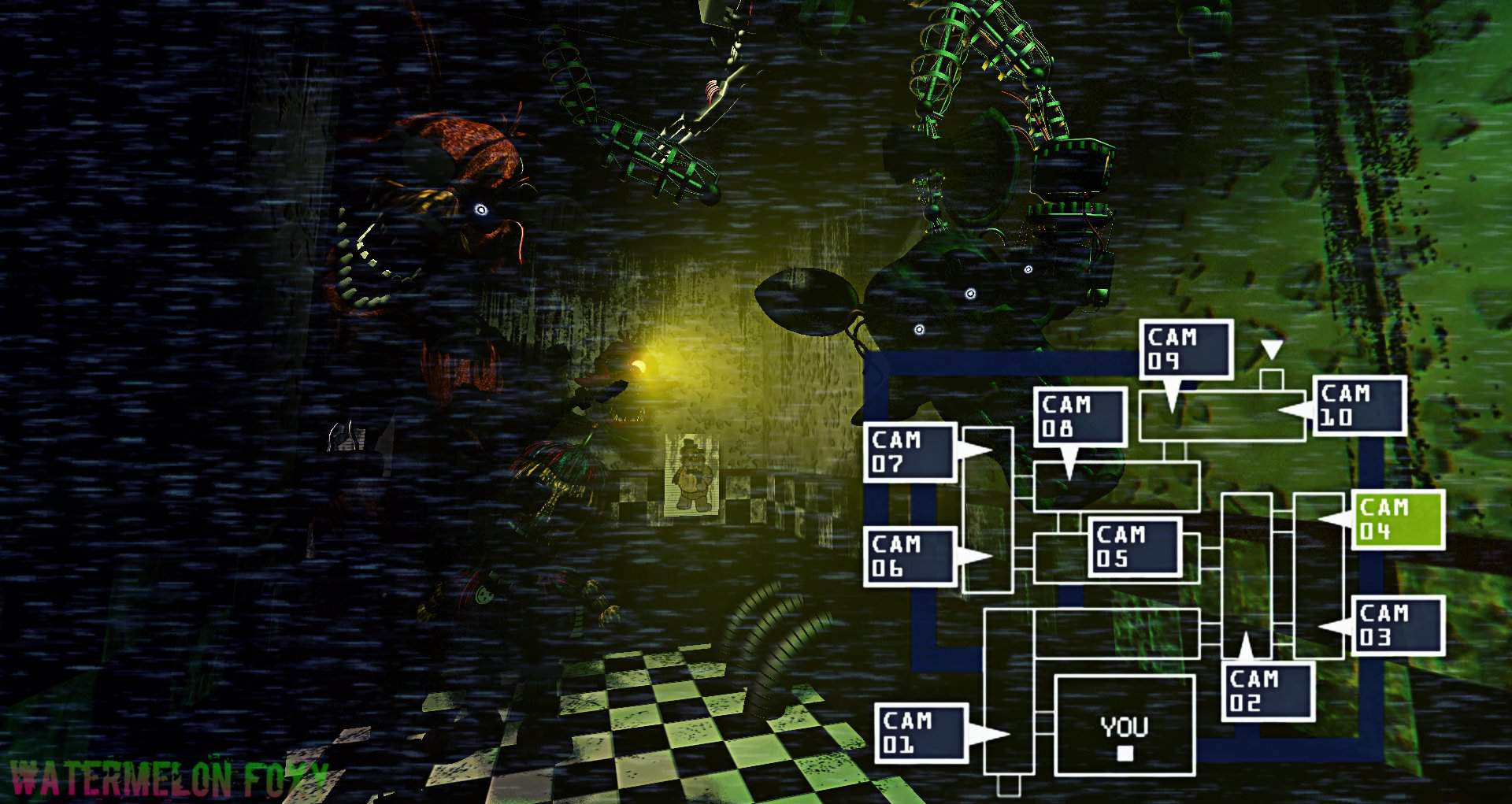 SFM] Fnaf 3: Cam 04   Five Nights At Freddy's Amino