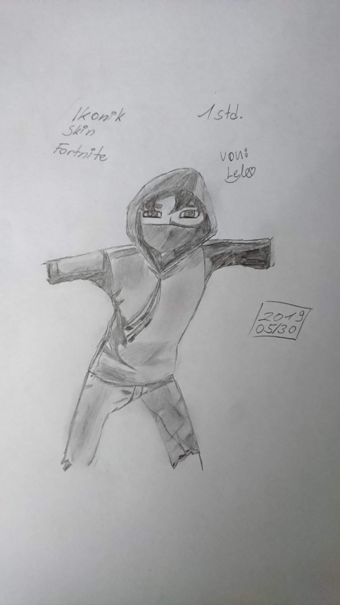 Fortnite skins zeichnen