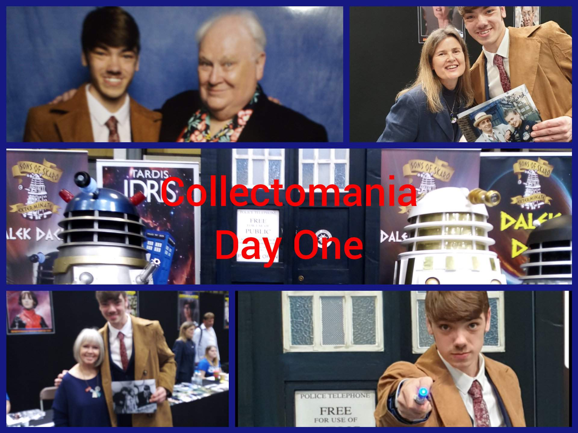 COLLECTOMANIA: Day One Doctor Who Amino  Doctor Who Amino