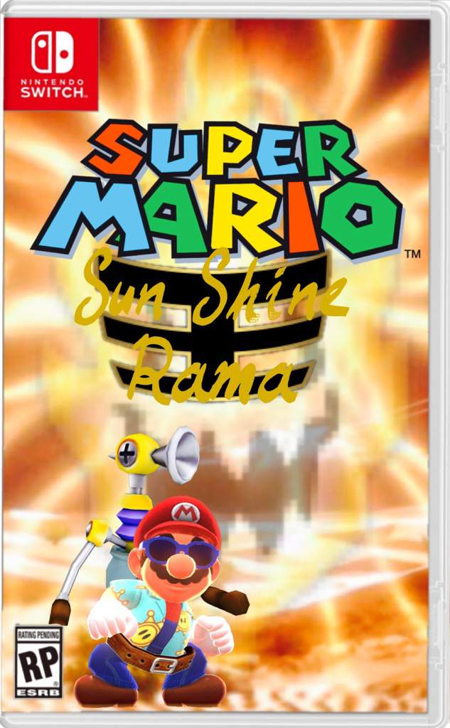 Super Mario Sunshine Rama☀️ | Nintendo Switch! Amino