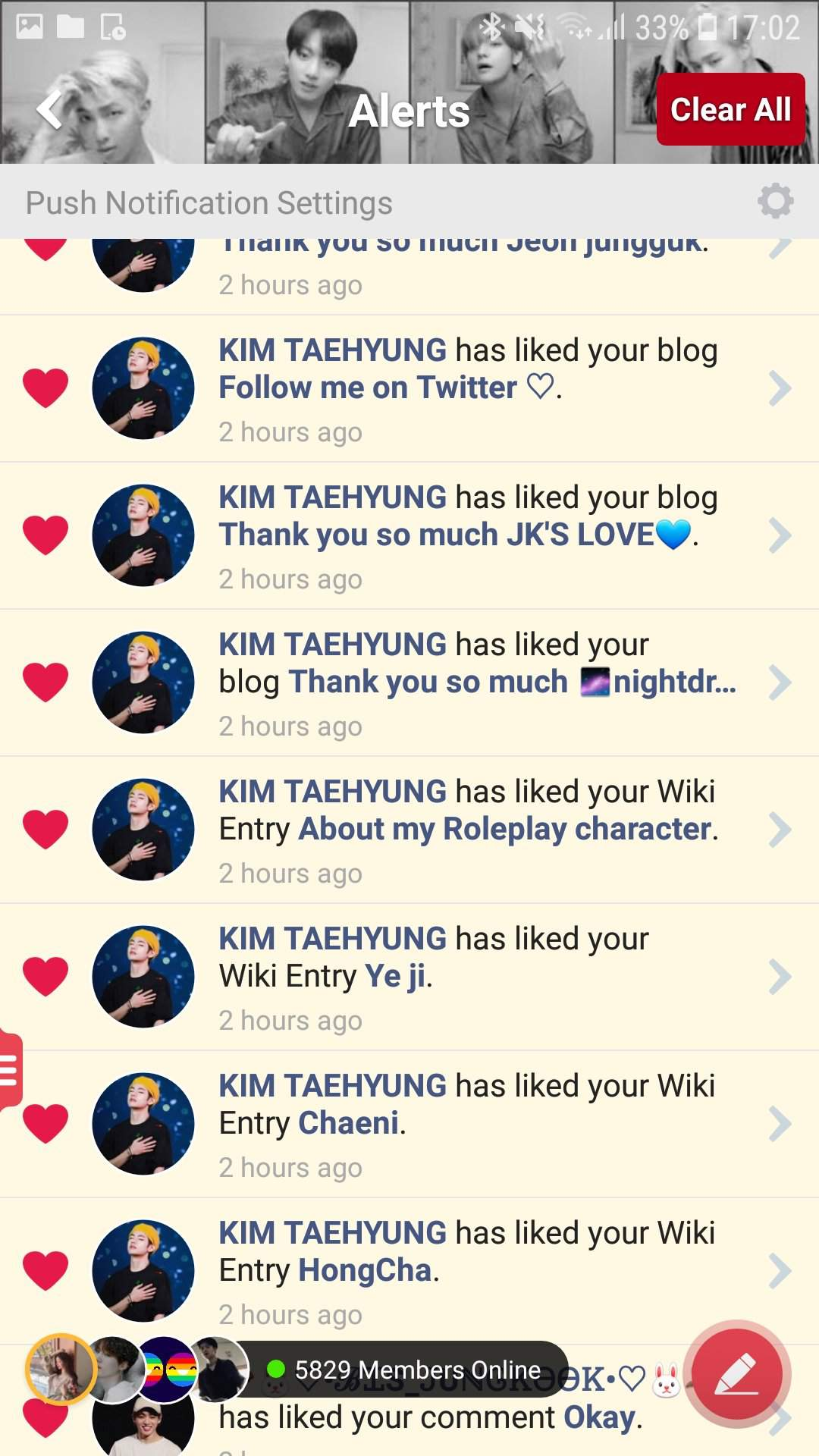 Thank You So Much Kim Taehyung Army S Amino