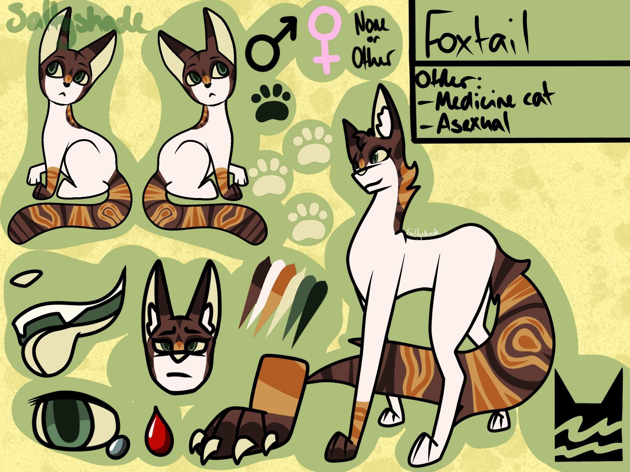 Foxtail Oc Wiki Warriors Amino