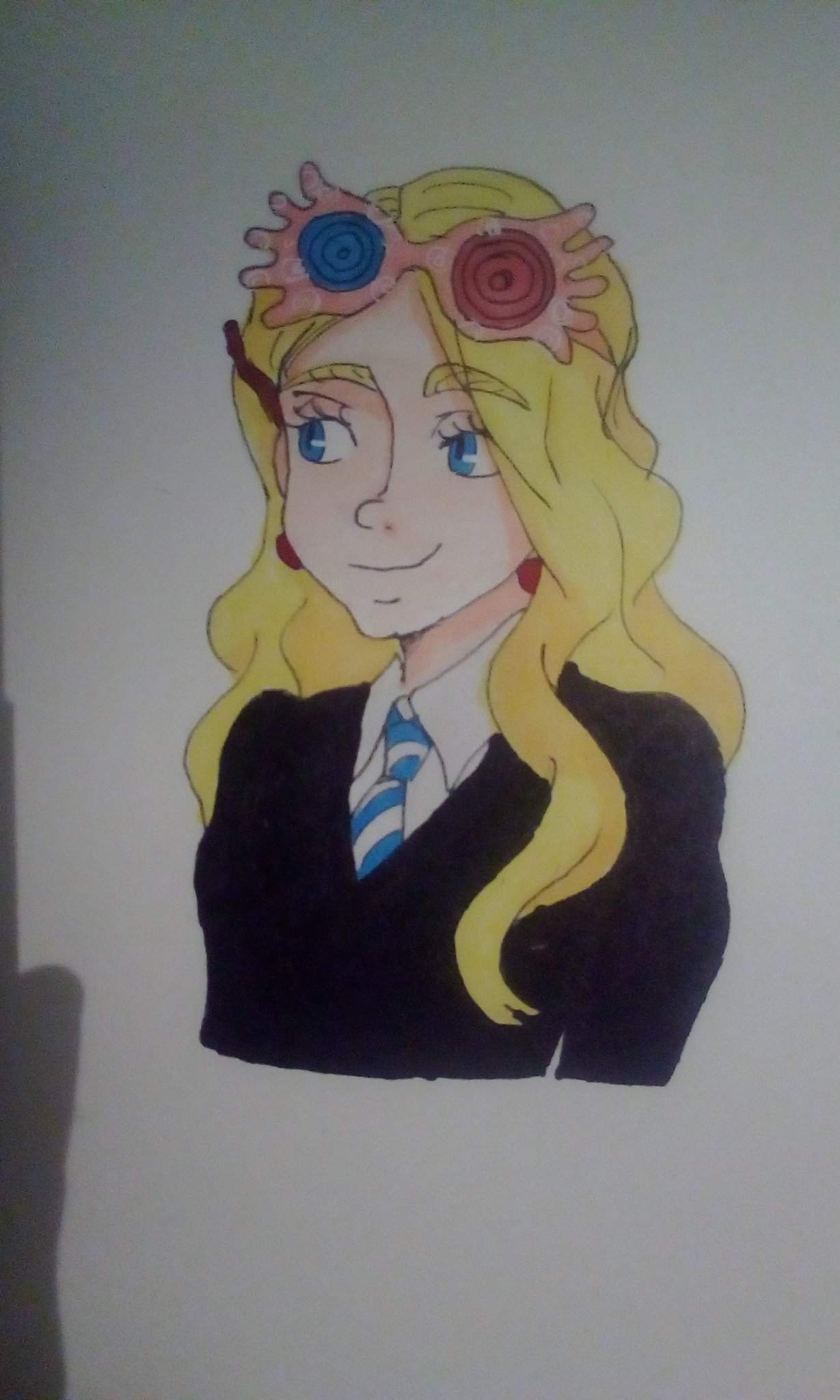 Fanart Luna Lovegood Harry Potter Fr Amino