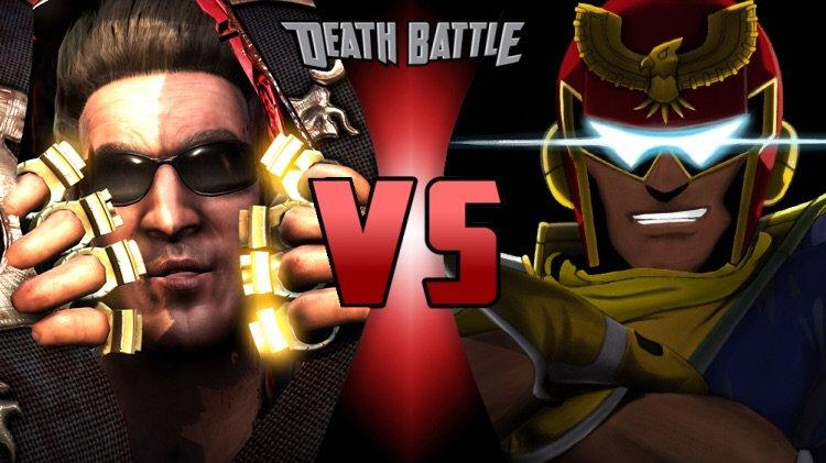 The Cool Guys Captain Falcon Vs Johnny Cage F Zero Vs Mortal