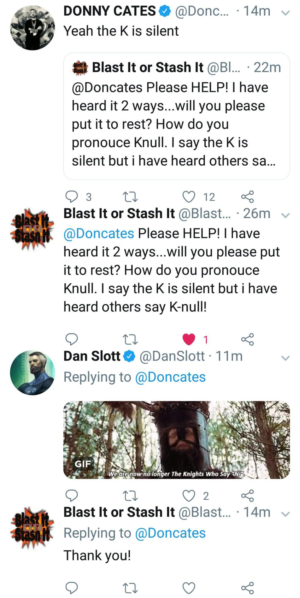 Magnet: Donny Cates Confirms The True Pronunciation of Knull! Thanos