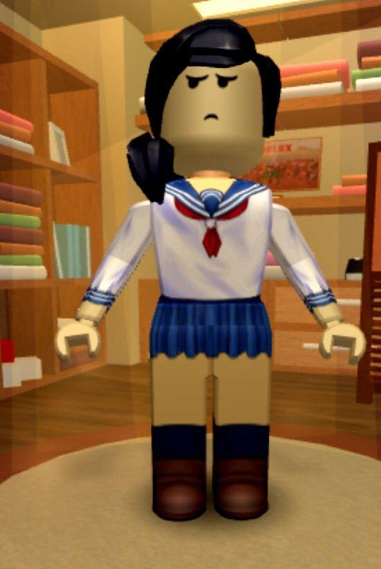 Oooff Made A Roblox Ayano Yandere Simulator Amino