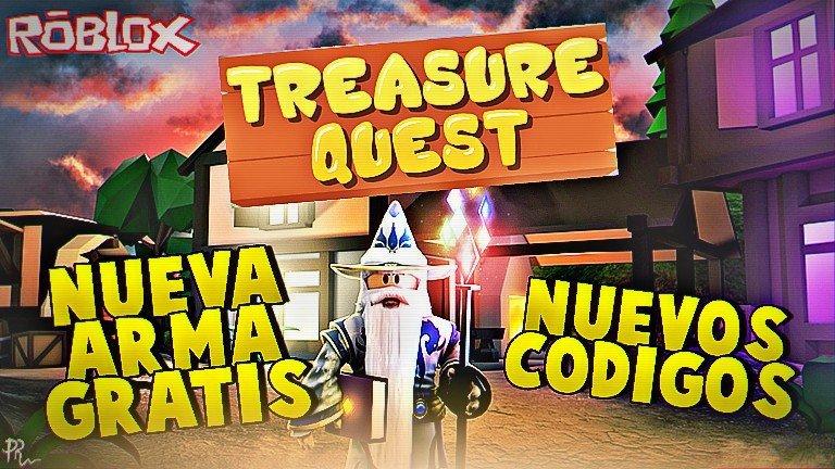 Nuevos Codigos Y Nuevas Armas Gratis En Treasure Quest Roblox