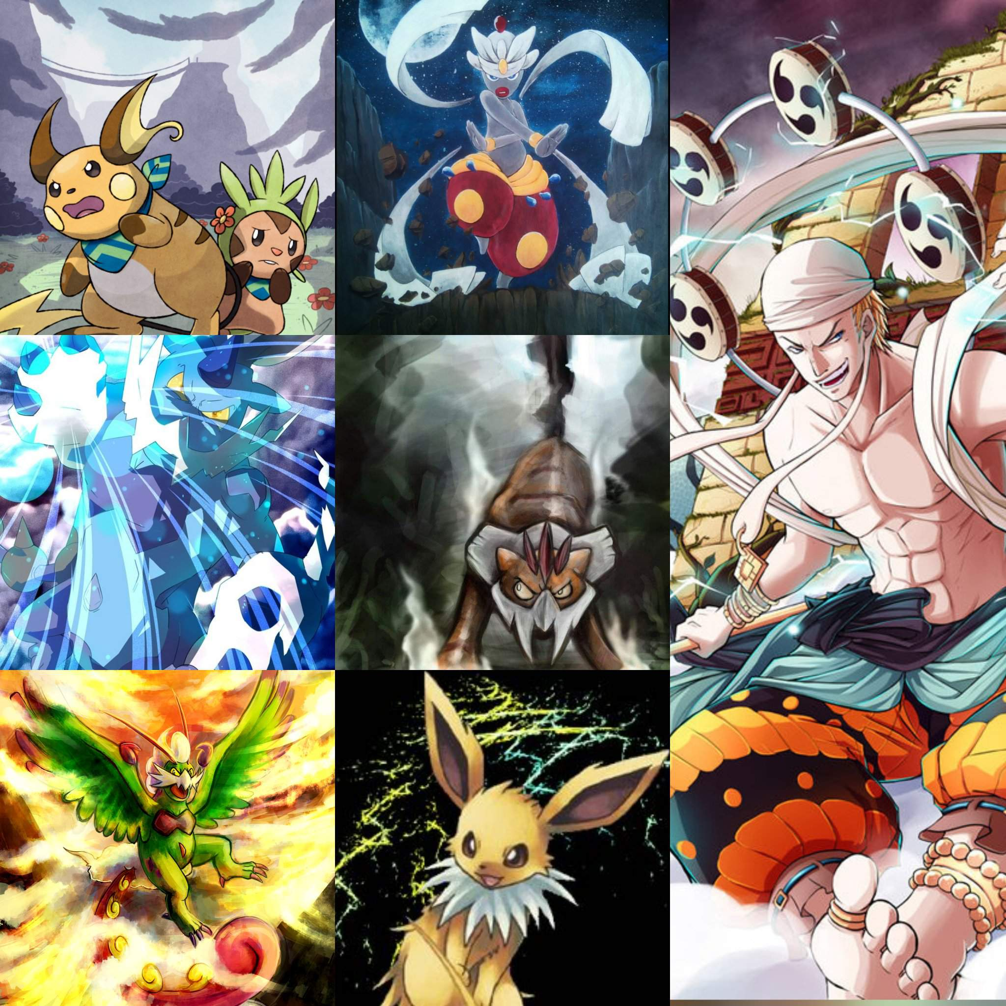 Fake God Enel Wants To Fight One Piece Pokemon One Piece Amino