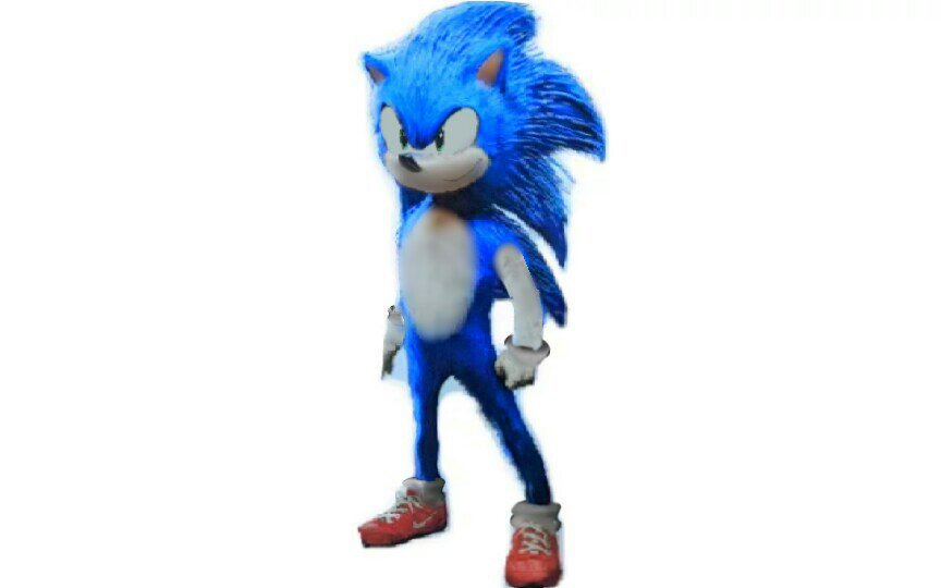 My Initial Sonic Movie Design Sonic The Hedgehog Amino