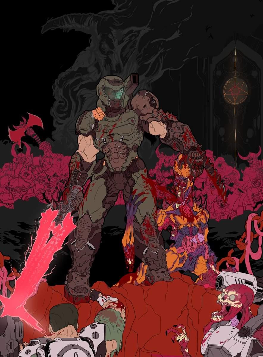 Another Doom Eternal Fan Art Doom Amino