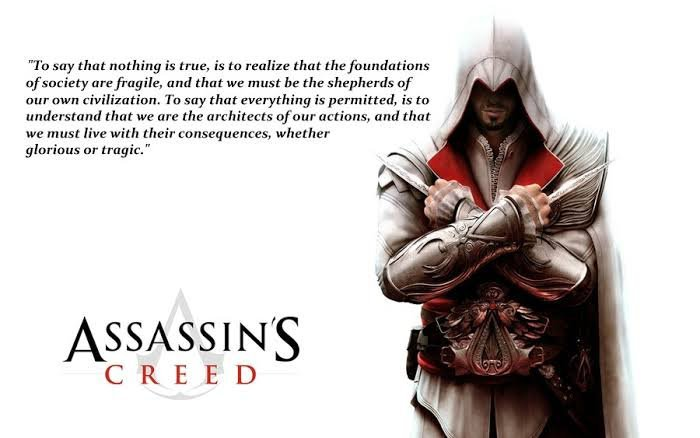 Assassins Creed Quote Assassins Creed Amino