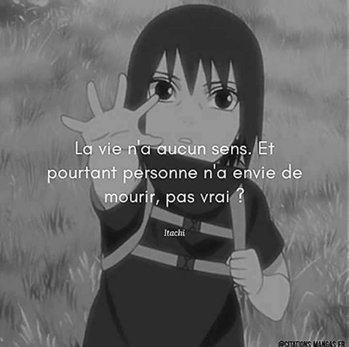 Citation Itachi Du Jour Naruto Boruto Fr Amino