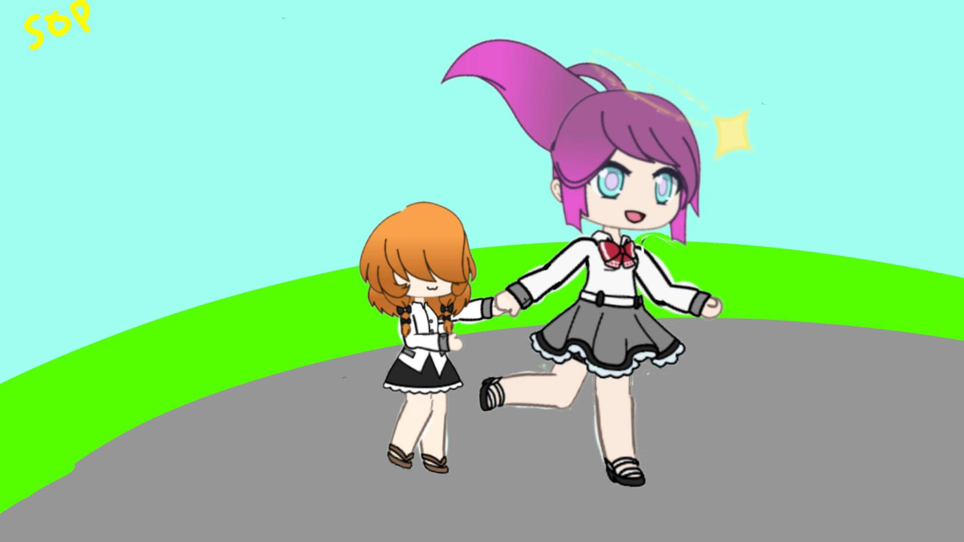 I Made My Oc And The Genderless Kid As A Gl Drawing Roblox Myths