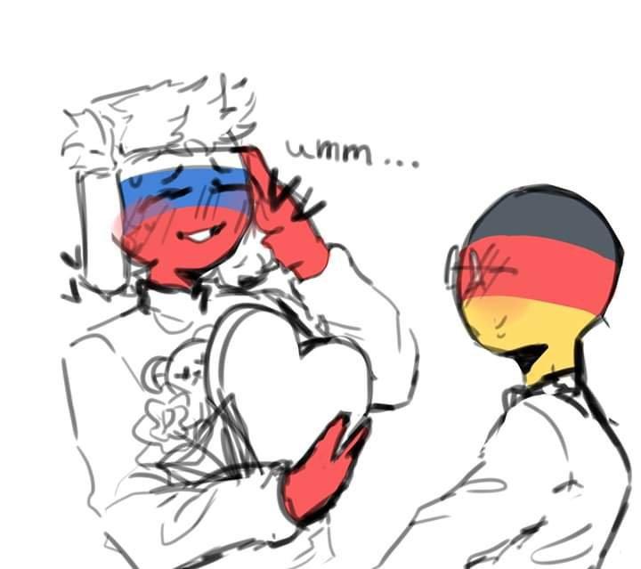 Russia x Germany 💖💖💖 | •Countryhumans Amino• [ENG] Amino