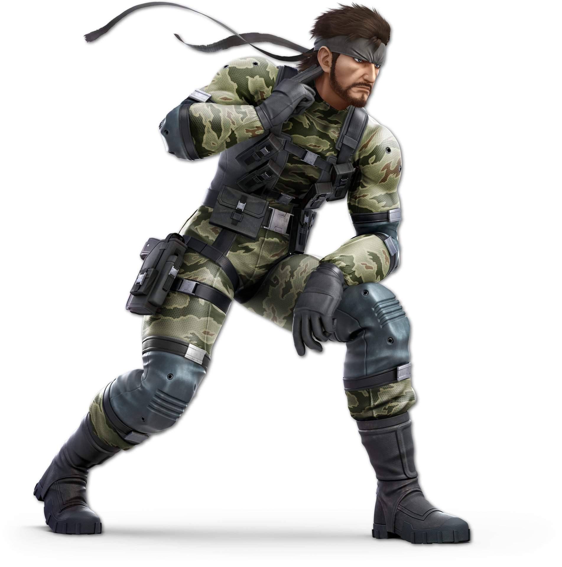 Naked Snake (Metal Gear Solid 3 : Snake Eater)