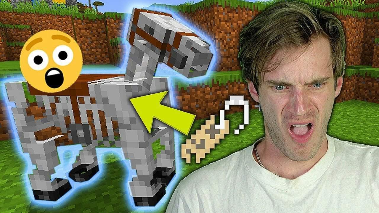 Magnet: PewDiePie Uploads Minecraft Gameplay Ep 13, 8-BitRyan