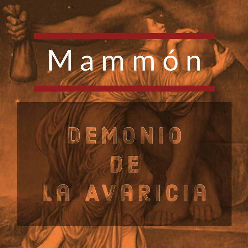 Mammón El Demonio De La Avaricia Ocultismo Amino