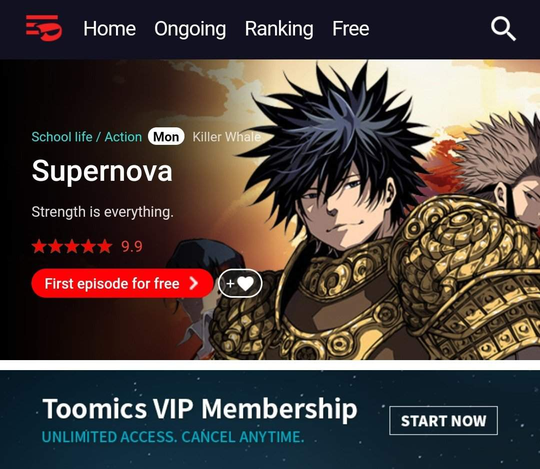 Toomics Vip Free