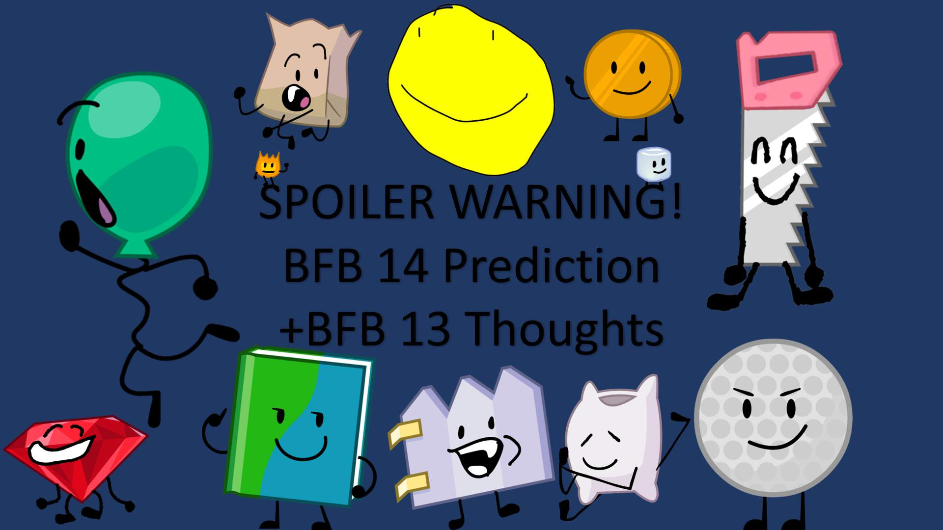 BFB 14 Prediction (+Thoughts about BFB 13) | BFDI Amino