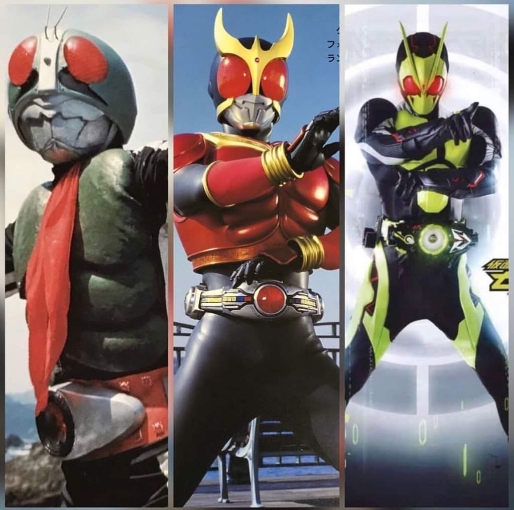 Showa,Heisei, and Reiwa Era | Kamen Rider Amino Amino