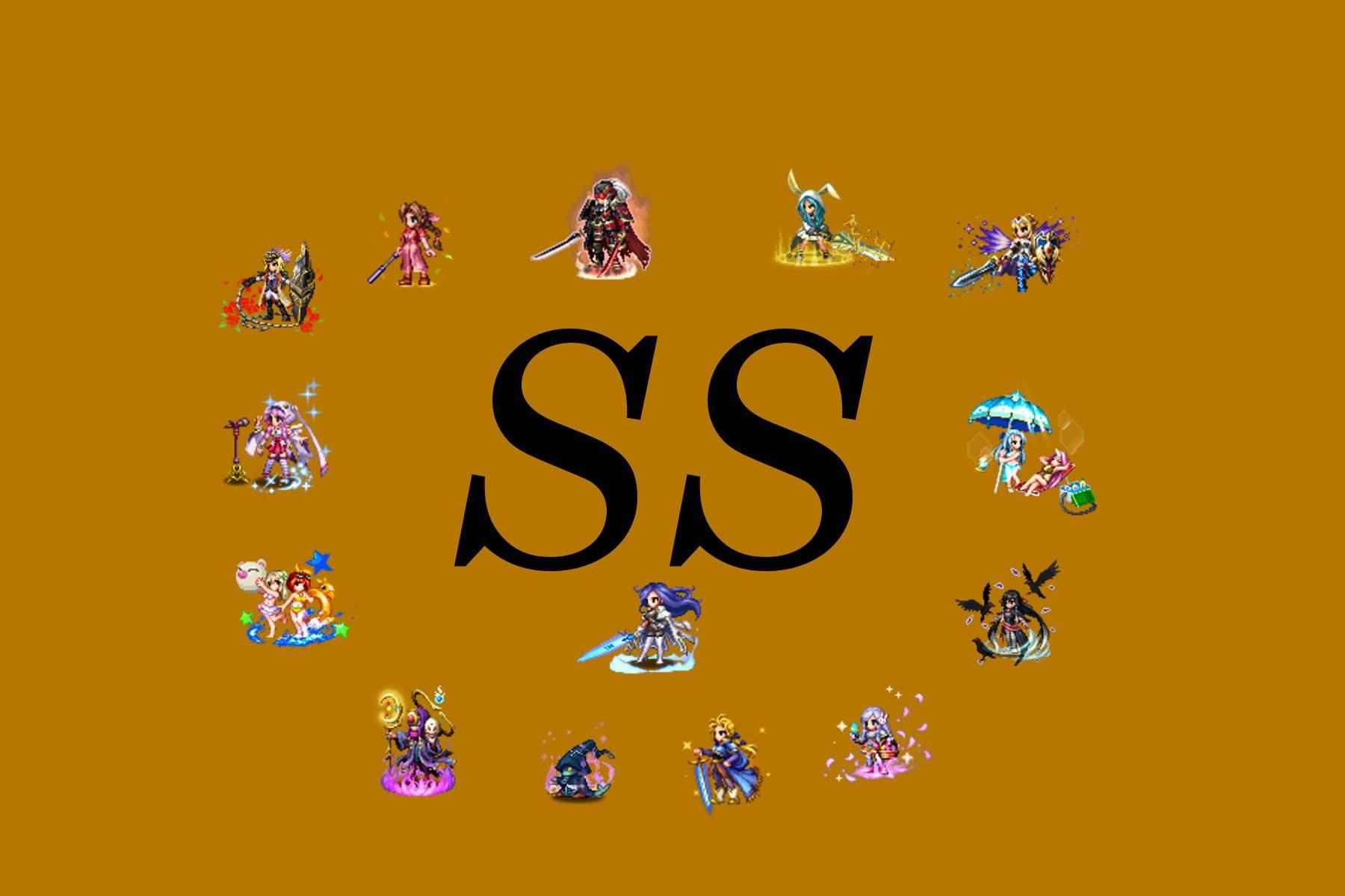 TIER LIST FFBE GL!!!! | Final Fantasy Brave Exvius Amino