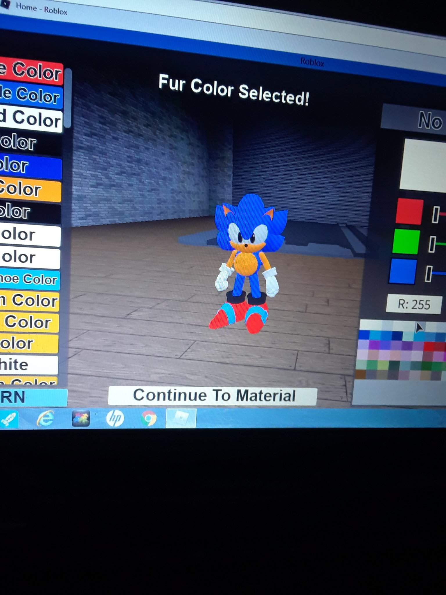 Everyone Quick Go Play Sonic Pulse On Roblox But If You Make Your Own Custom Character I Suggest You Make It On Pc Or On Mobile I Ll Show You My Oc Classic