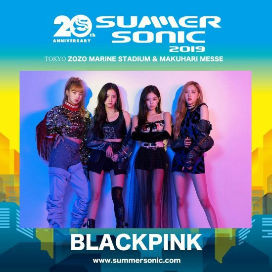 Blackpink summer sonic, 2019 | Kim Jennie Amino