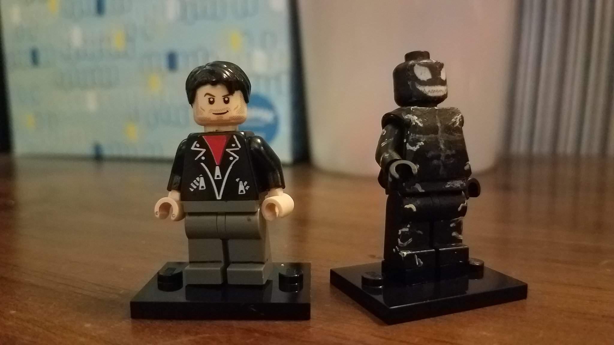 Eddie Brock//Venom Venom Custom Mini Figures