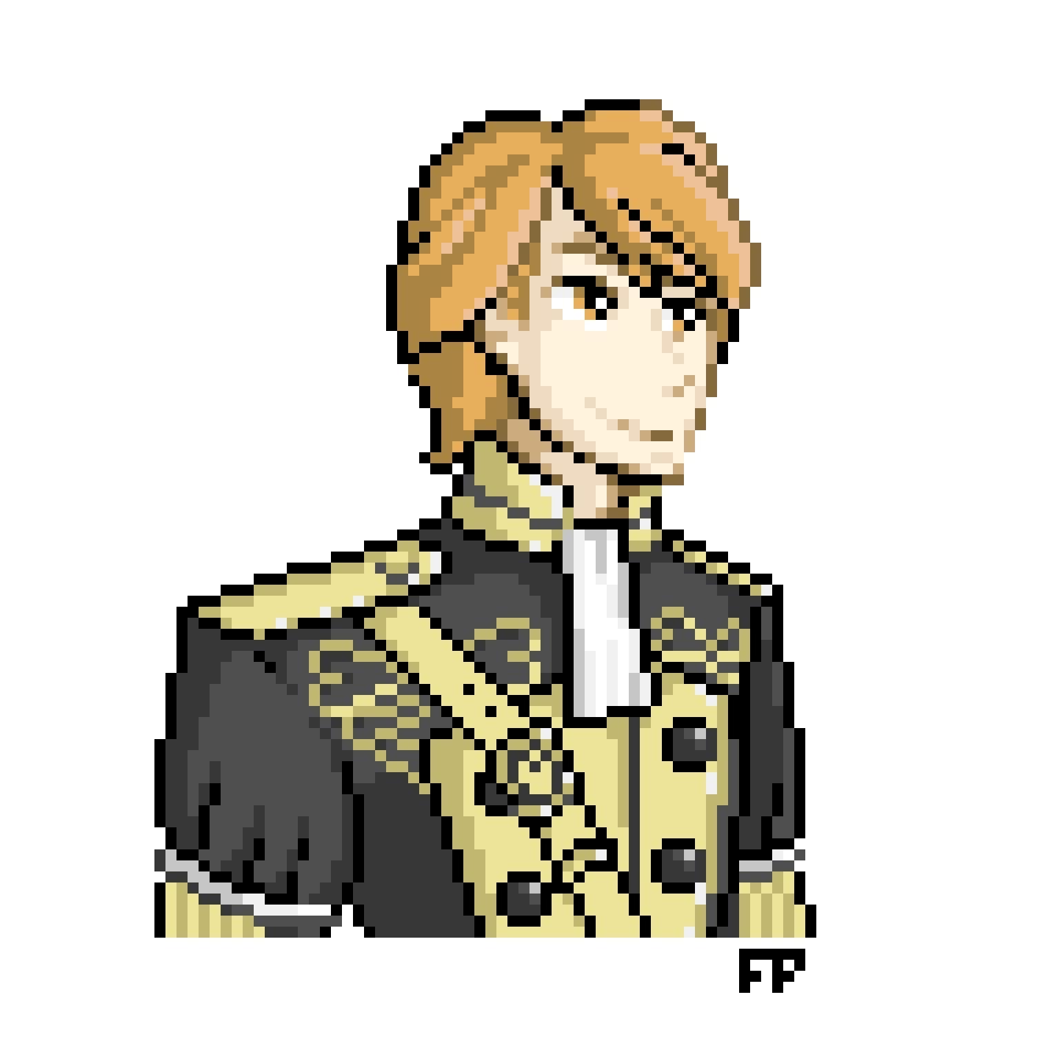 Pixel Portrait My Boi Ferdinand Fire Emblem Amino This is the the noble idealist, ferdinand. amino apps