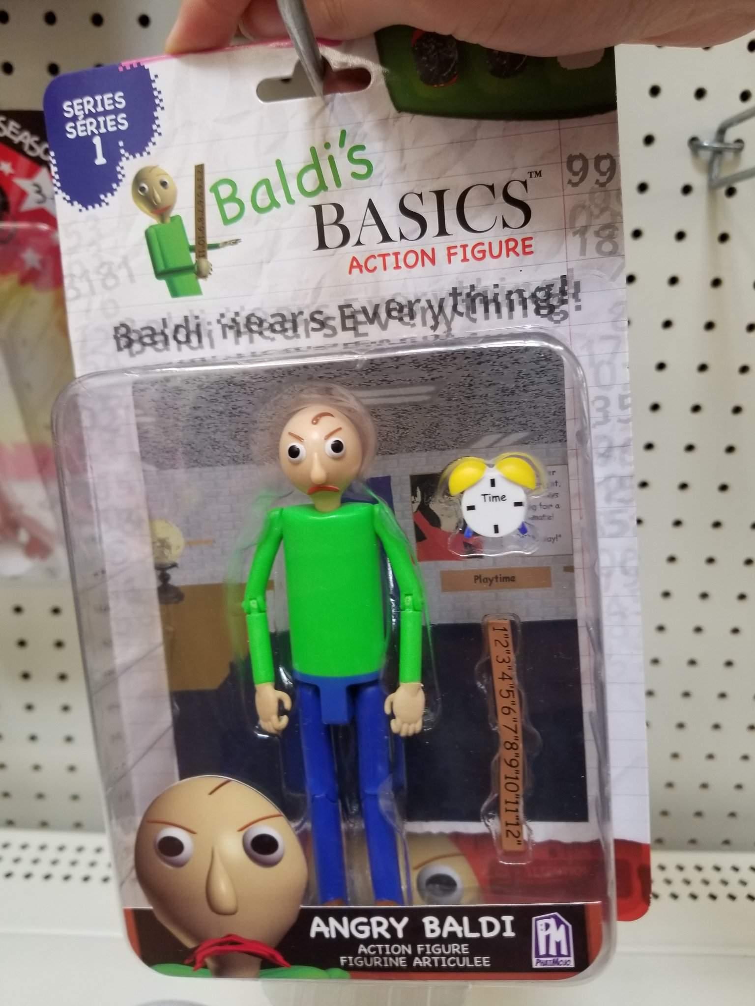 Baldi/'s Basics Action Figure Angry Baldi