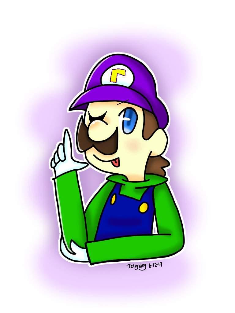 Cool Luigi Art