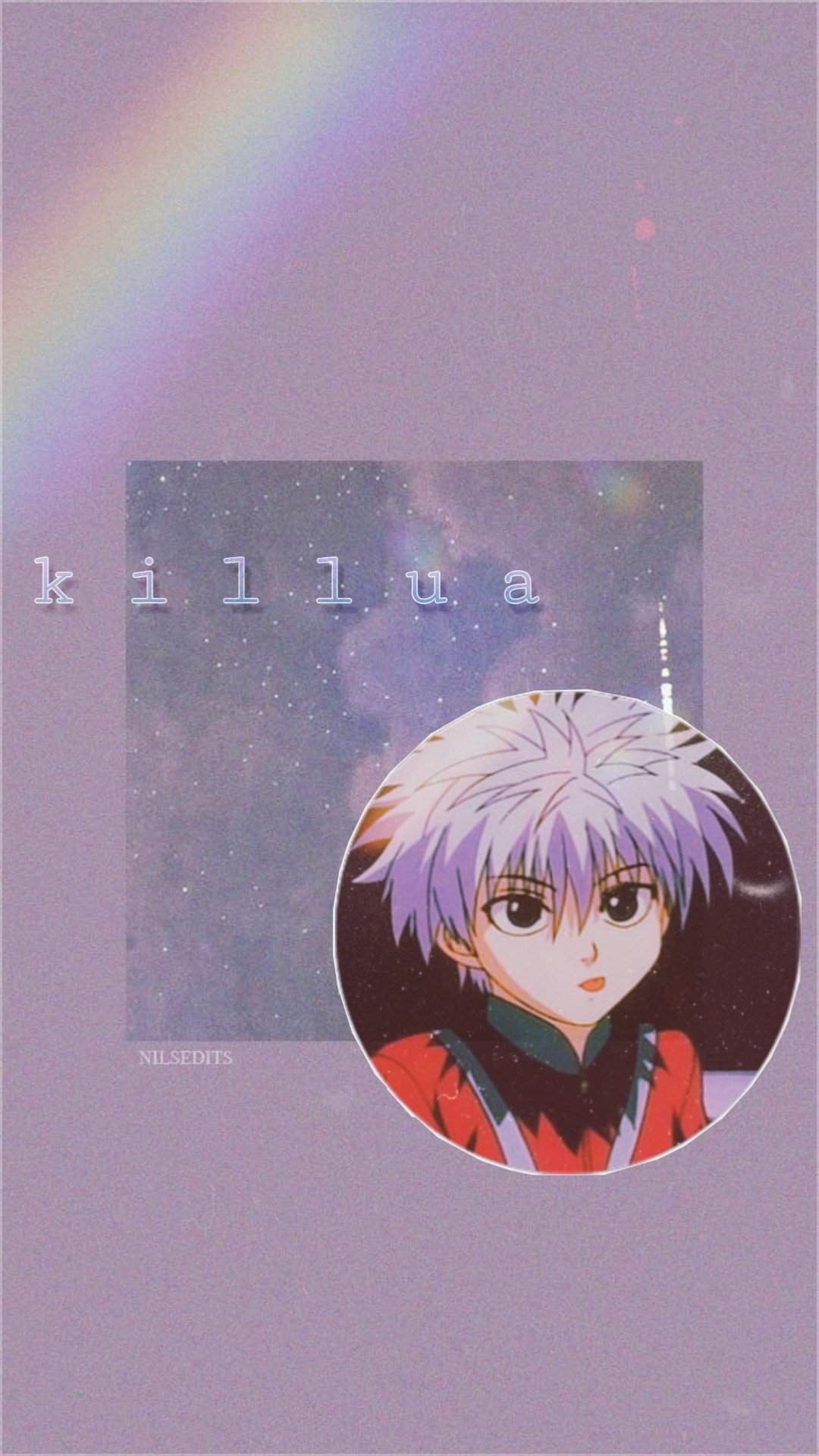 Killua Aesthetic Edit Hunter X Hunter Amino