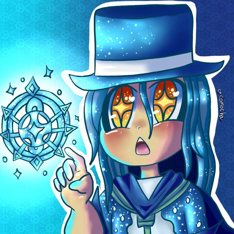 Zach's Fascination For Ice- Chibi Commission | Wizard101 Amino