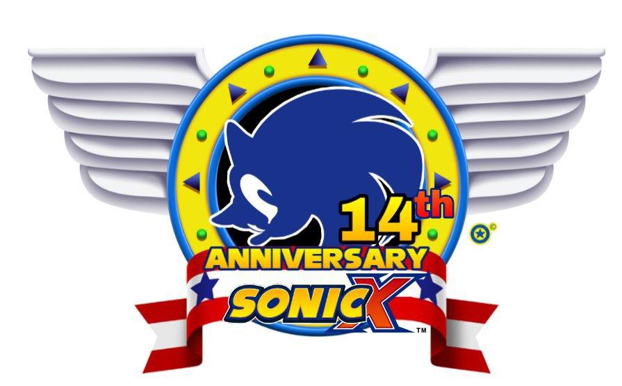 Sonic X S 14th Anniversary Emblem For 2020 Sonic The Hedgehog Amino