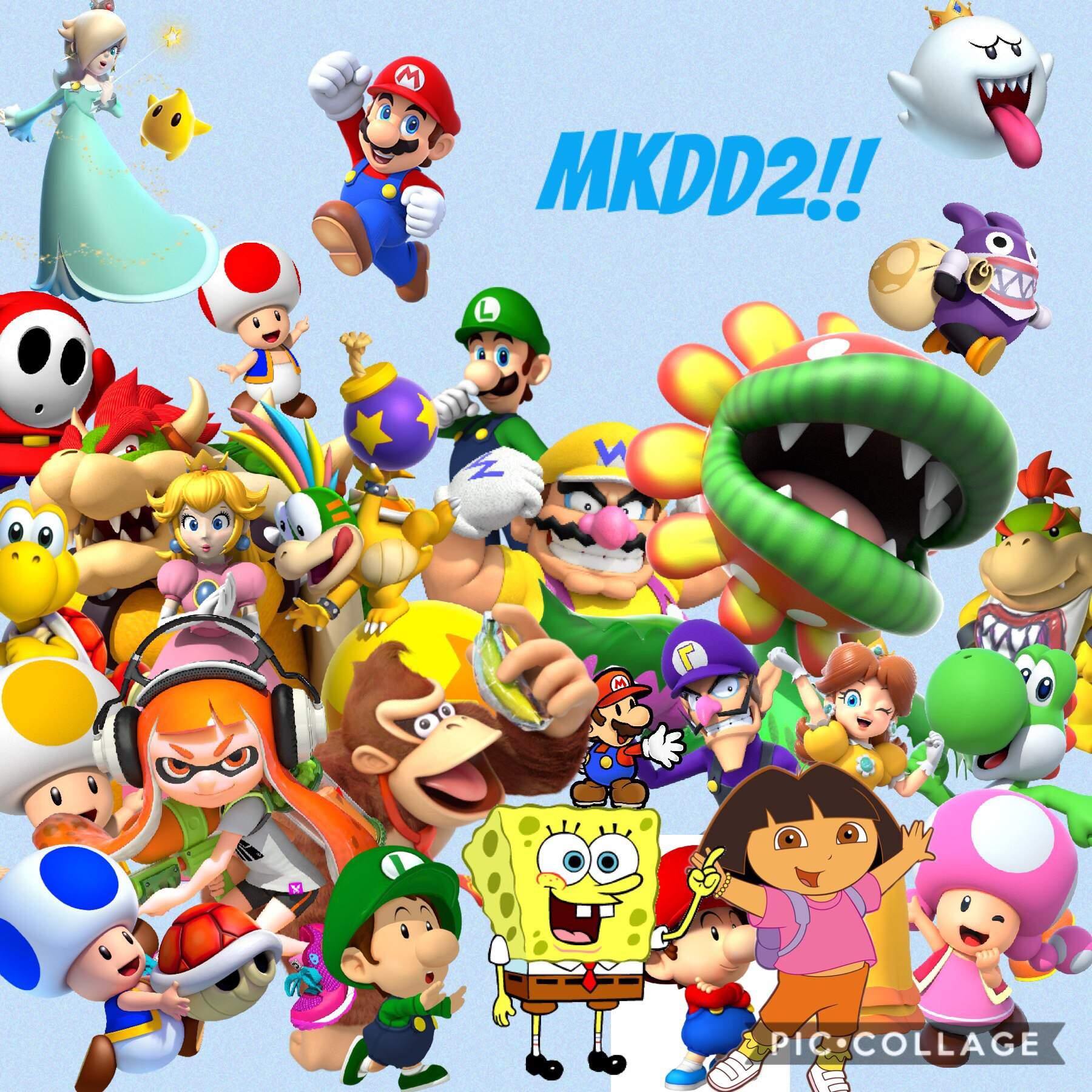 Mario Kart Double Dash 2 Mario Amino