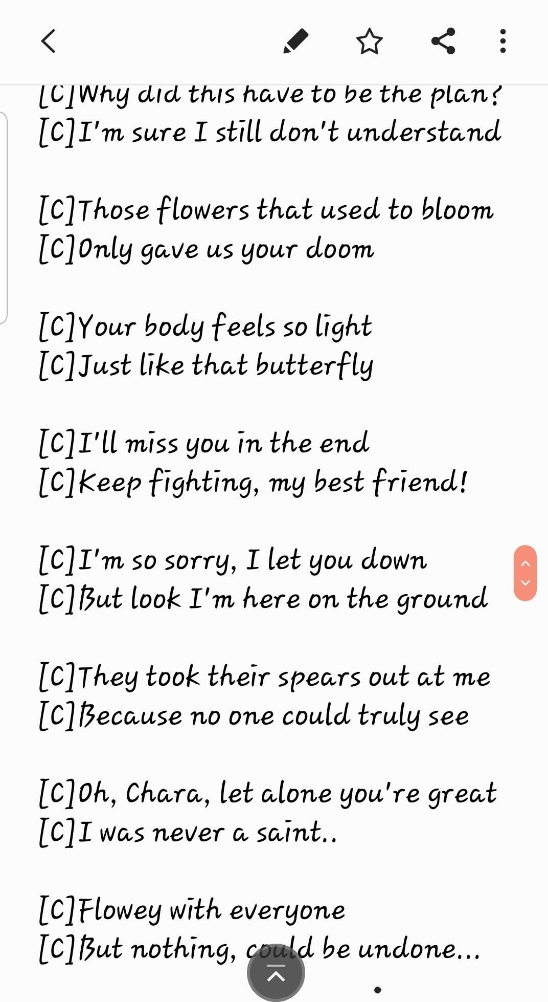 Buttercup Love Chara Asriel Poem Undertale Amino