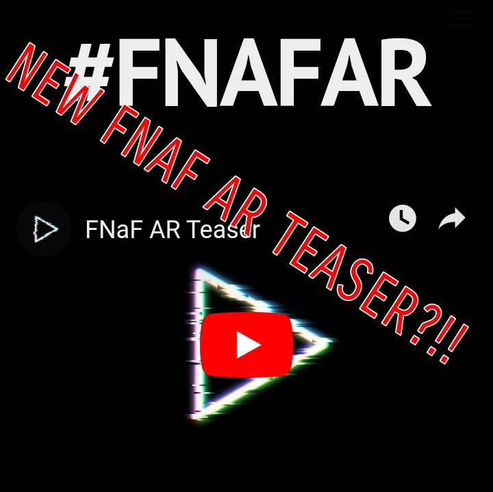 NEW FNAF AR TEASER?!! | Five Nights At Freddy's Amino