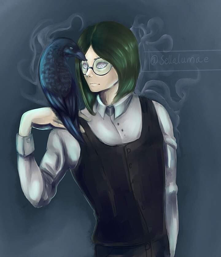 ミ Oh raven won't you sing me a happy song? ミ | My Hero