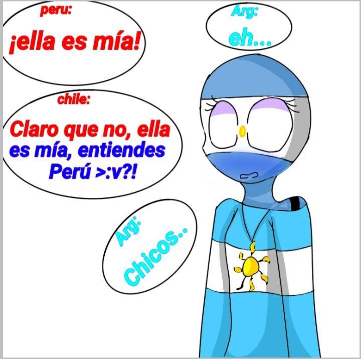 Es Mia Argentina Mexico Peru Y Chile Countryhumans Amino