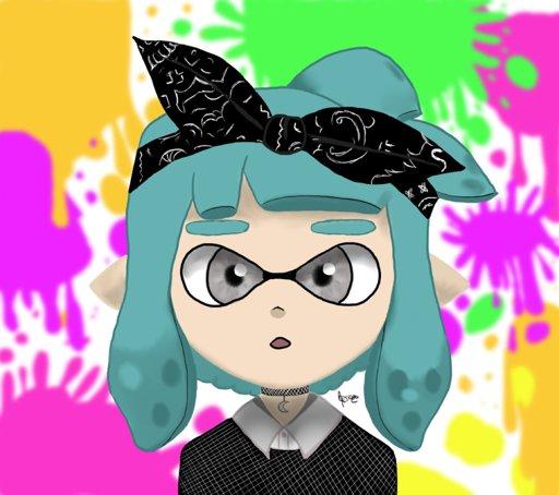 Dessin Splatoon Fille Inkling Nintendo France Amino