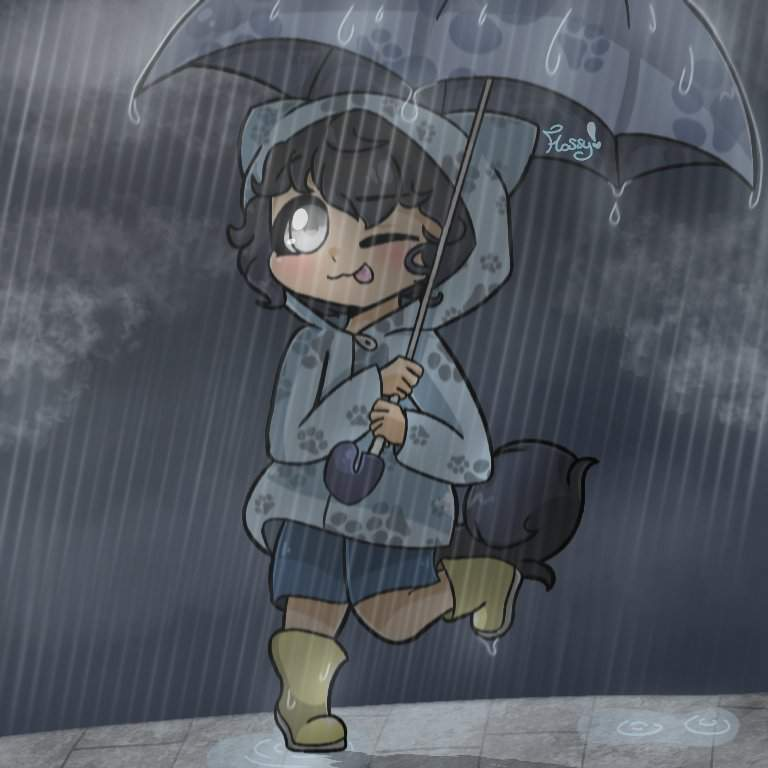 Rainy Day~ (Child Ein)
