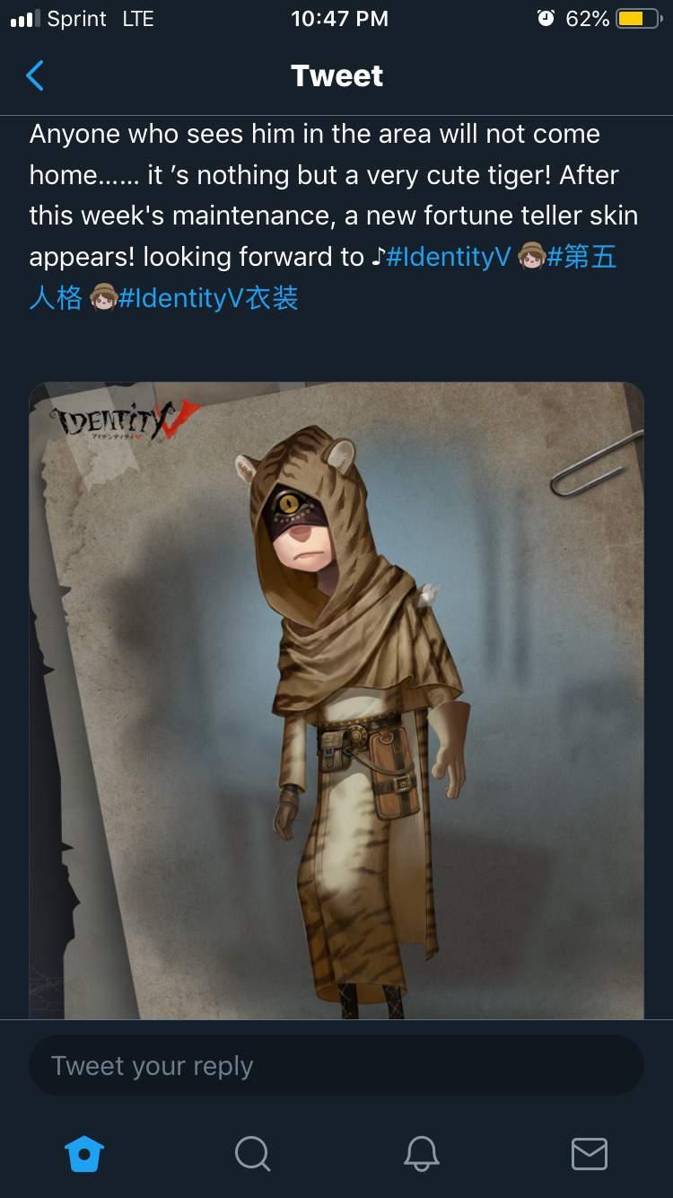 seer identity v skins