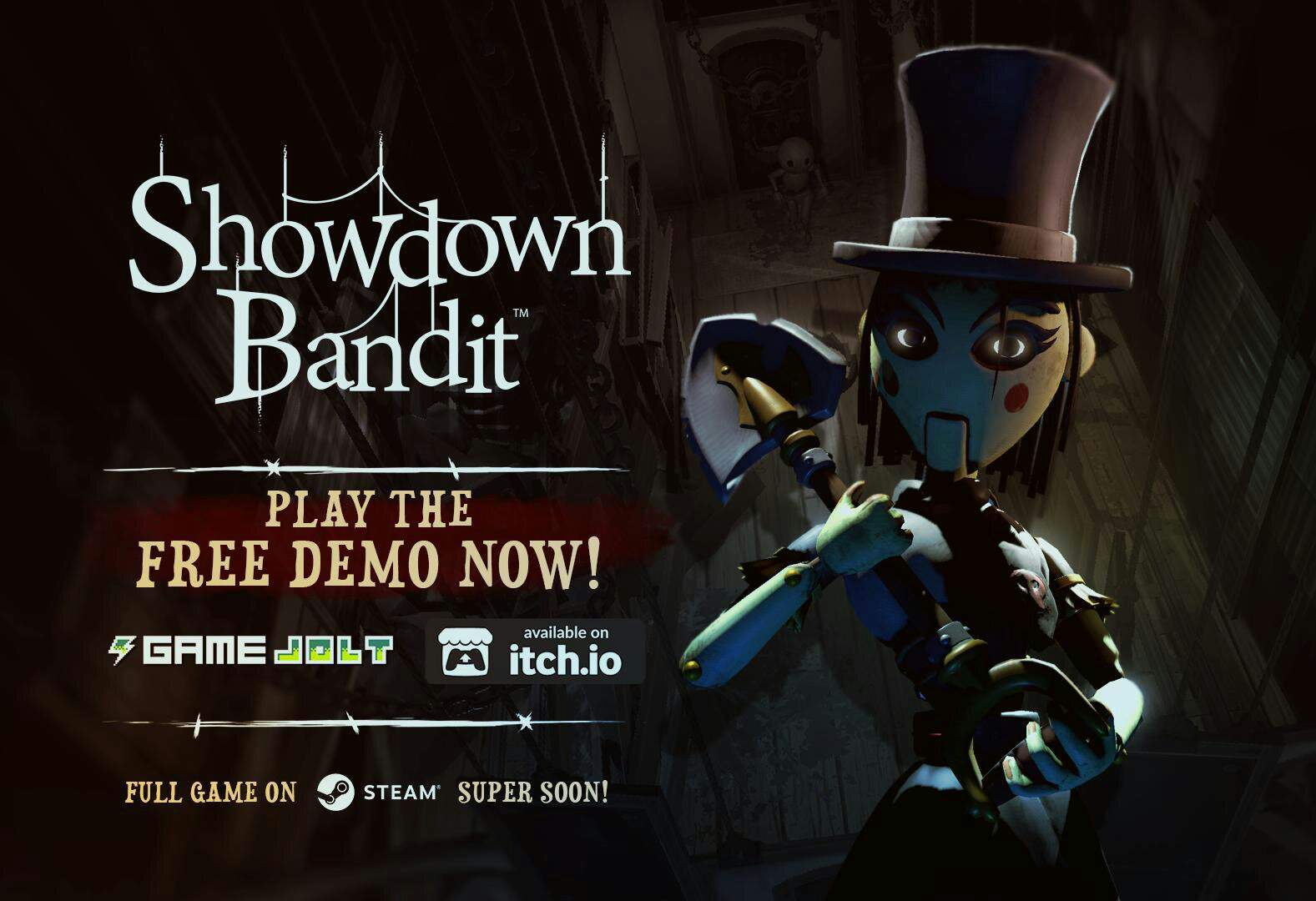New Showdown Bandit Demo Out Now On Game Jolt Itchio