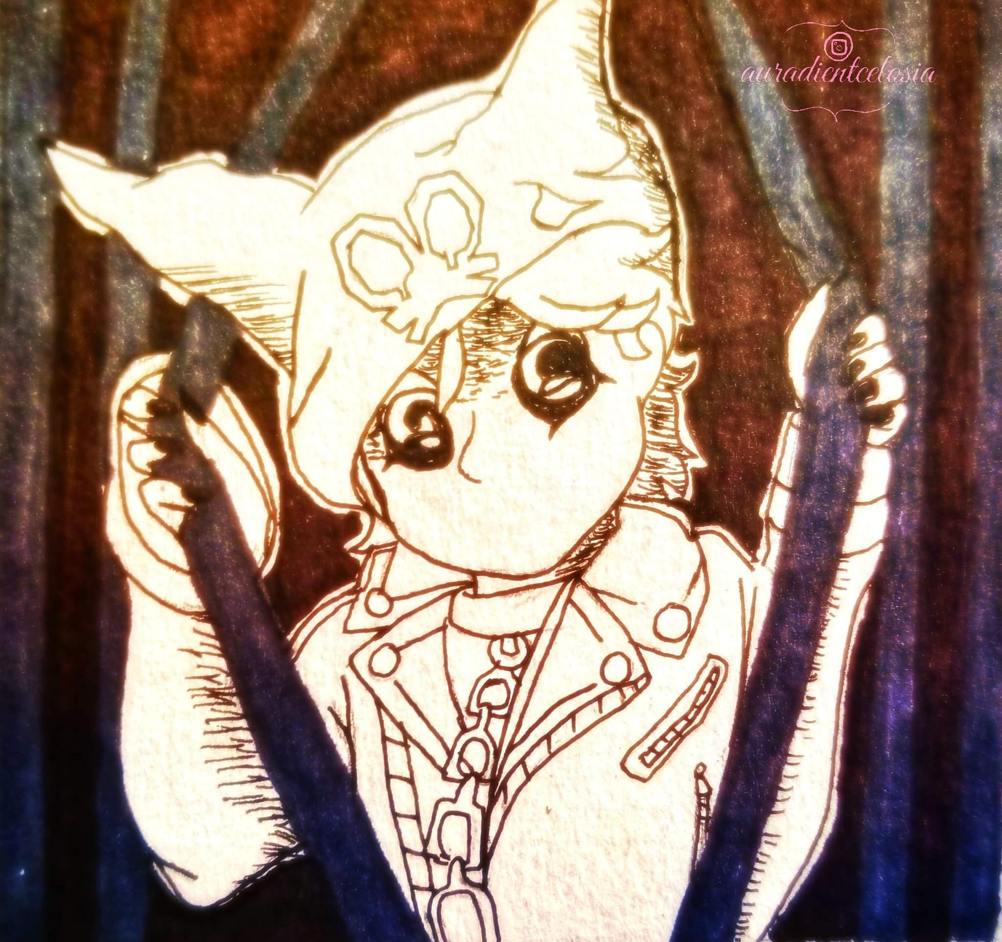 Inktober 1 Panic Ryoma Hoshi Danganronpa Amino He belongs to kazutaka kodaka. amino apps