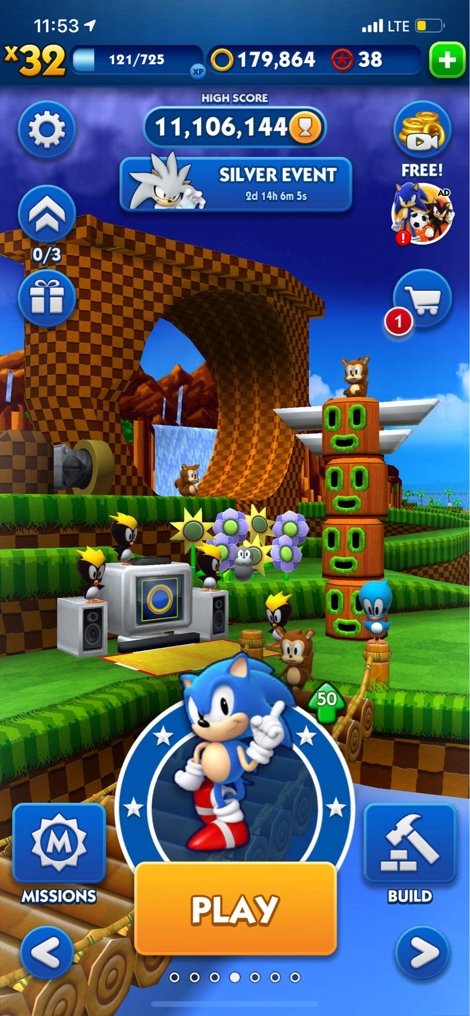 My New High Score In Sonic Dash Sonic The Hedgehog Amino