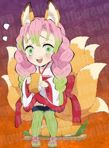 Mitsuri Kanroji Wiki Demon Slayer Kimetsu No Yaiba Amino This is a list of characters for the manga and anime series demon slayer: amino apps