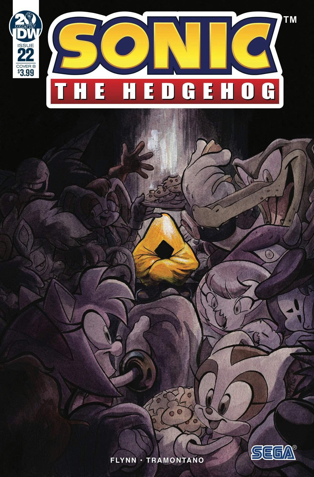 Idw Sonic The Hedgehog Issue 22 Review Sonic The Hedgehog Amino