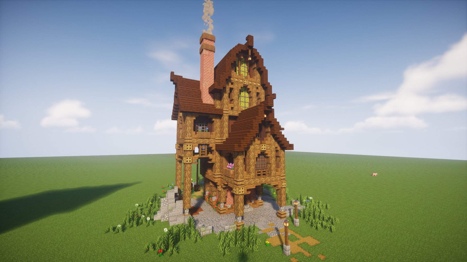 Spowoky Halloween Steampunk Ish House Minecraft Amino